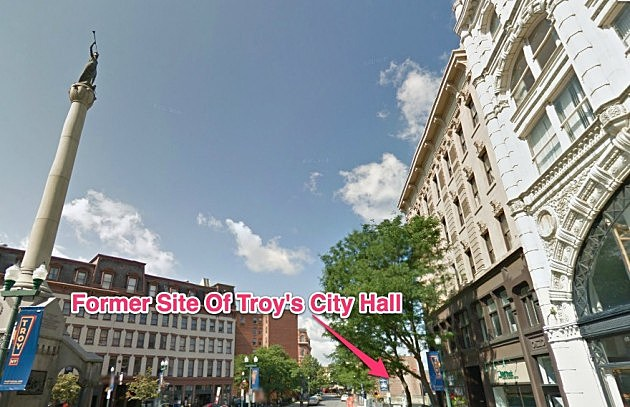Former Site Of Troy City Hall