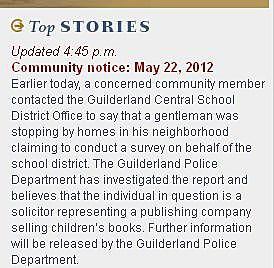 GCS District Community Notice
