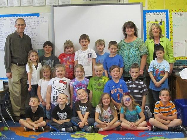 Hoosick Falls Central School 2nd Grade Class