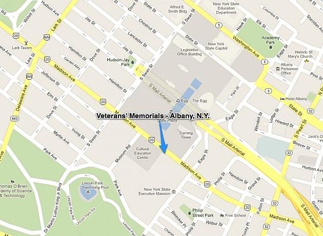 Veterans Memorials - Albany, N.Y.