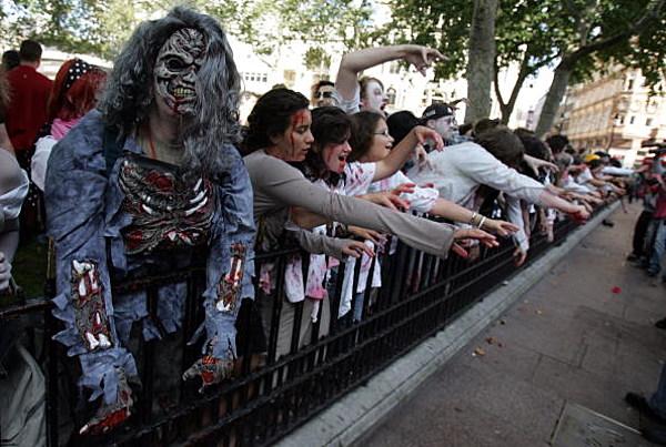 how to start a zombie apocalypse