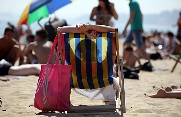 warm weather - hit the beach
