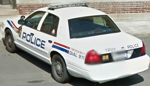 Troy Police Car