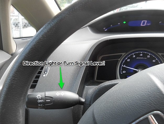 Turn Signal or Direction Light Lever Lever
