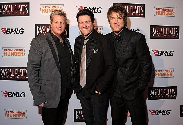 Gary, Jay and Joe Don of Rascal Flatts
