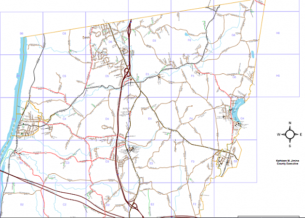 Screenshot Schodack map