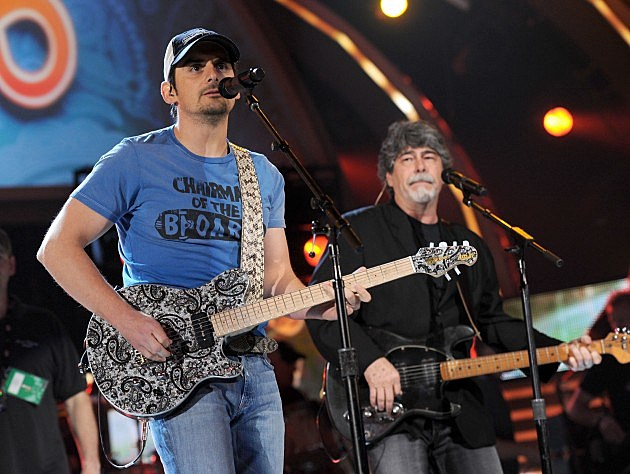 Brad Paisley and Randy Owen of Alabama