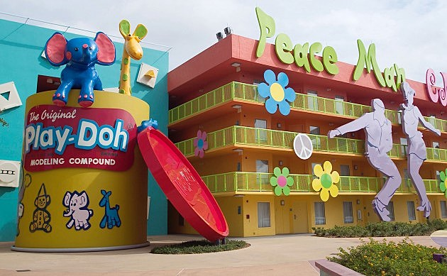Disney Gives A Sneak Preview Of New Pop Century Resort
