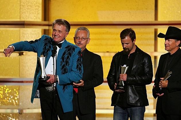 Bill Anderson, Buddy Cannon, Jamey Johnson, George Strait