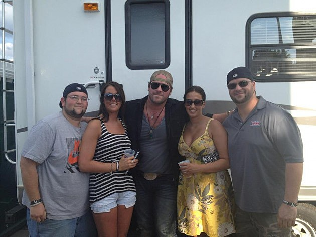 Lee Brice and my Friends