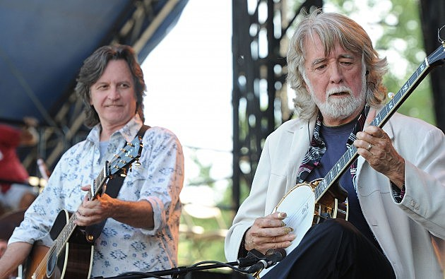 Jeff Hanna and John McEuen of the Nitty Gritty Dirt Band