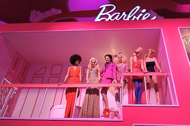 Barbie the dream closet at lincoln center cocktail party