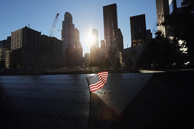 Memorial Held At World Trade Center Site On 11th Anniversary Of Sept. 11 Attacks