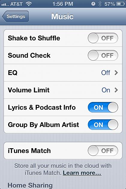 iPhone volume screenshot