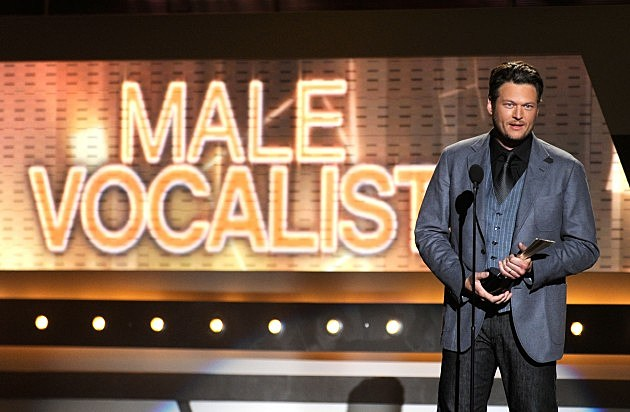 Blake Shelton 2012 Academy Of Country Music Awards