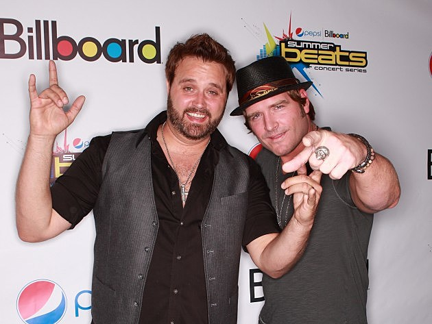 Randy Houser and Jerrod Neimann at Billboard Summer Beats Concert Series In Nashville
