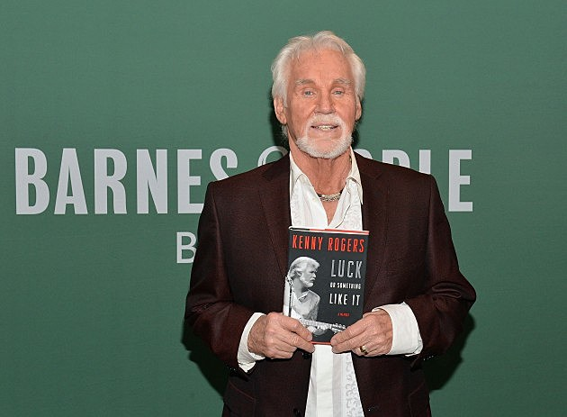 "Kenny Rogers Signs Copies Of ""Luck Or Something Like It"""