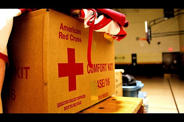 red cross comfort kit