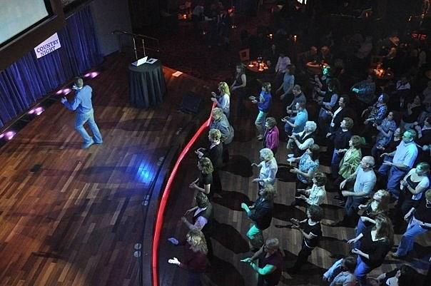 Line Dancing At Vapor