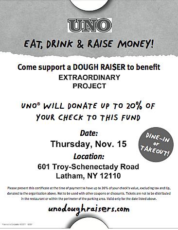 Screenshot eat drink and raise money