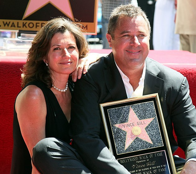 Vince Gill Honored On The Hollywood Walk Of Fame with Amy Grant