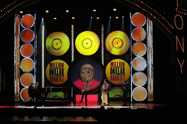 The Million Dollar Quartet at the 64th Annual Tony Awards - Show