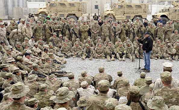 U.S. Defense Secretary Panetta Visits Afghanistan