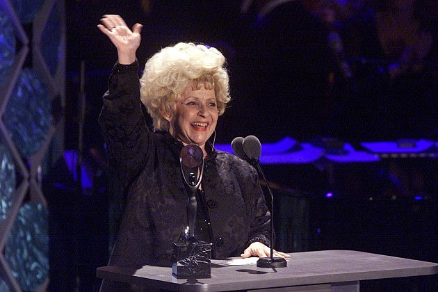 Brenda Lee at the 2002 Rock and Roll Hall of Fame Induction