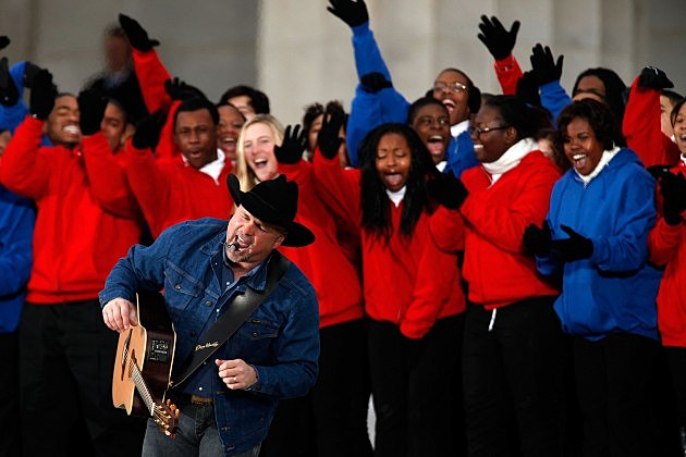 Garth Brooks: The Obama Inaugural Celebration At The Lincoln Memorial