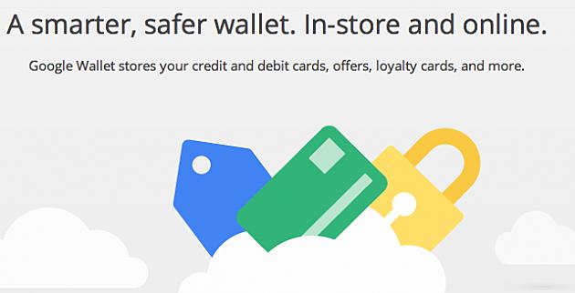 Screen Shot Google Wallet
