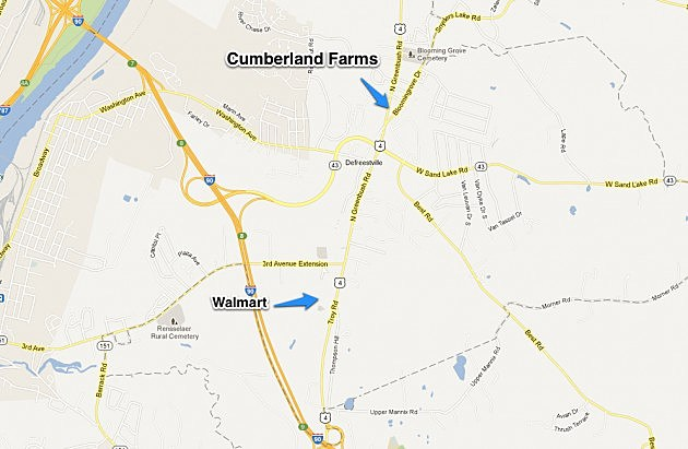 Walmart To Cumberland Farms
