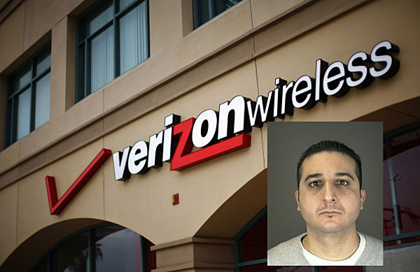Verizon Employees Arrested For Allegedly Stealing Naked