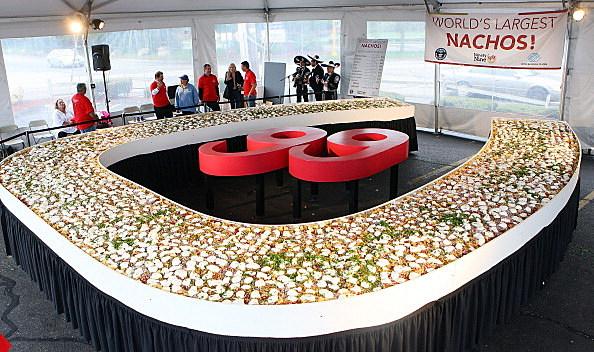 Guinness World Records Awards Ninety Nine Restaurants With World's Largest Nachos