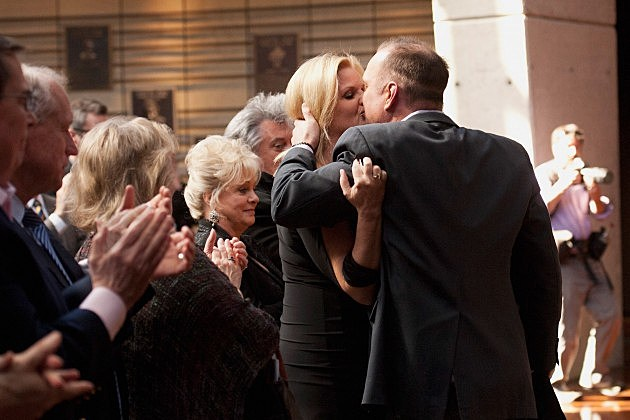 Trisha Yearwood and Garth Brooks Kiss at the Country Music Hall of Fame