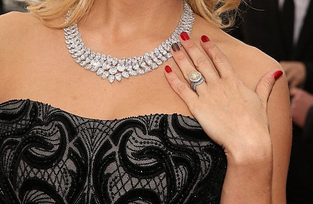 Carrie Underwood Grammy Necklace