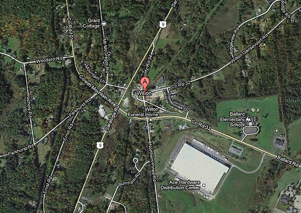 Wilton NY Google Maps