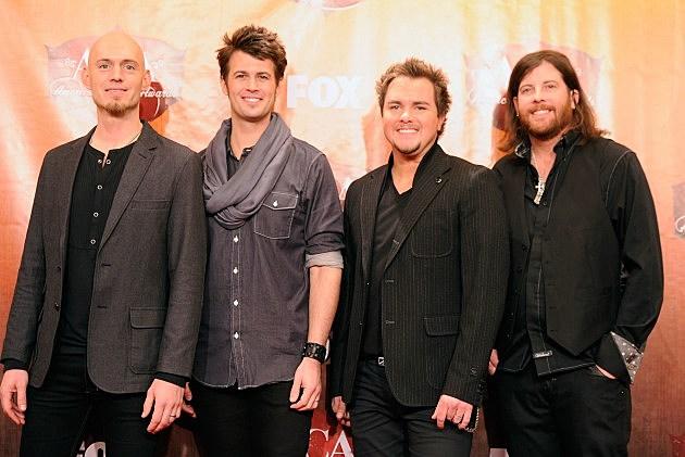 Eli Young Band - Jon Jones, Chris Thompson, Mike Eli, James Young