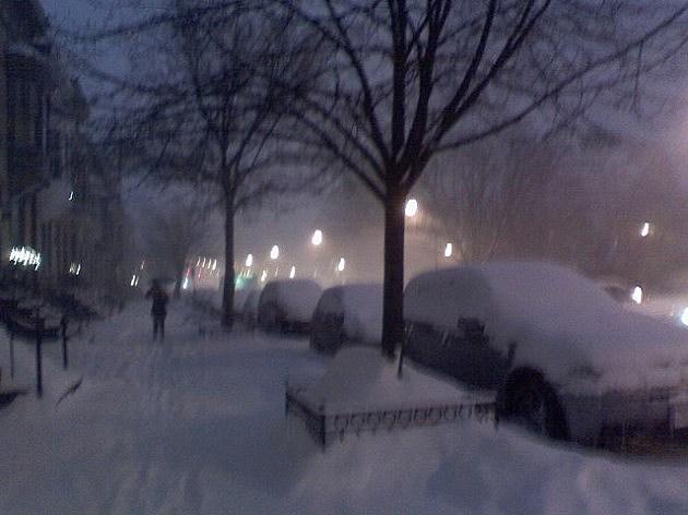 December 2012 Storm in Albany, New York