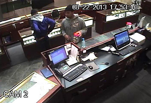 Hannoush Jewelers Donation Jar Robbery