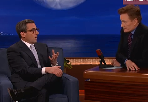 Screen Shot steve carell conan obrien
