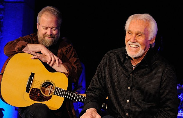 Don Schlitz and Kenny Rogers