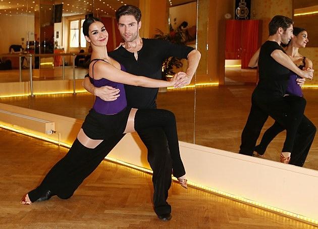 Sila Sahin Trains For 'Let's Dance'