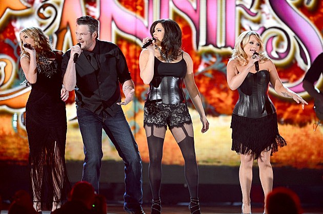 Blake Shelton and The Pistol Annies