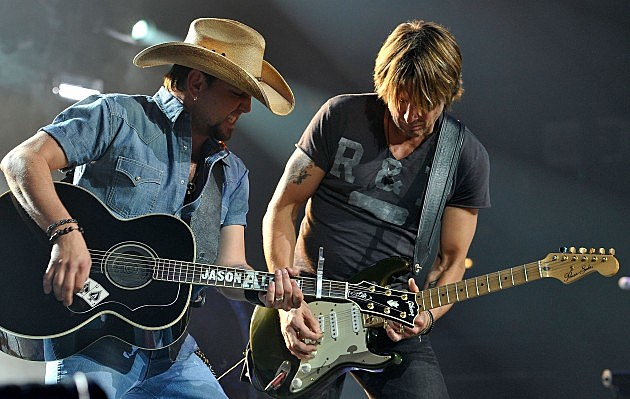 Jason Aldean at Keith Urban's Fourth Annual We're All For The Hall Benefit Concert
