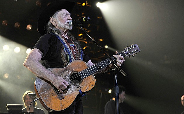 Willie Nelson at Keith Urban's 2013 All For The Hall Concert