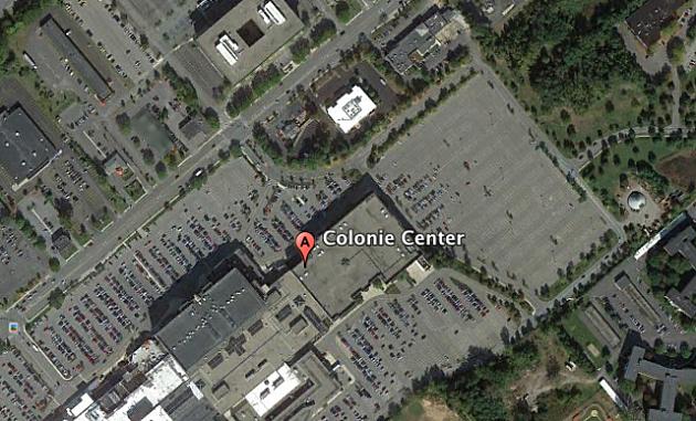 Screen Shot Colonie Mall Google Earth