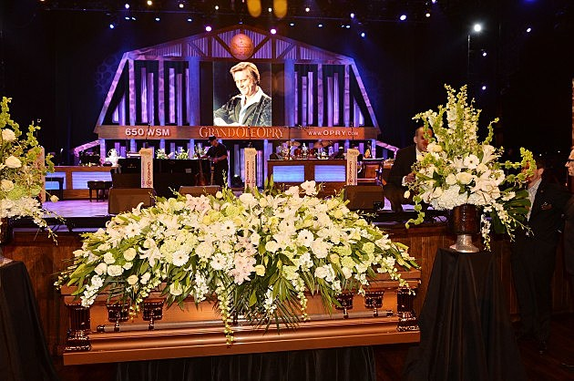 George Jones Public Funeral Service At The Grand Ole Opry House