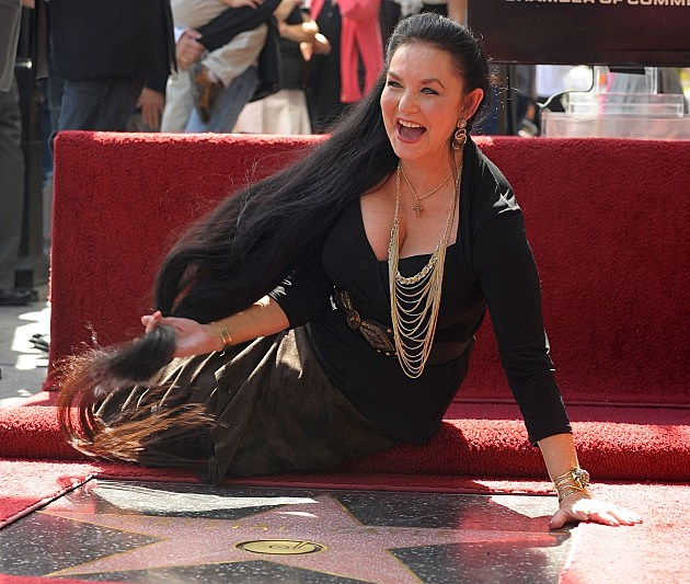 Crystal Gayle Honored On The Hollywood Walk Of Fame 2009