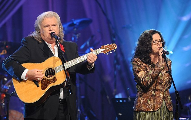 Ricky Skaggs and wife Sharon White of the Whites 2009