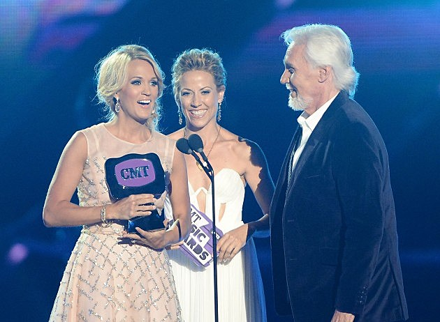 Carrie Underwood, Sheryl Crow, Kenny Rogers
